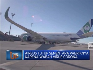 Wabah Corona Bikin Airbus Tutup Pabrik di China