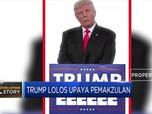 Begini Ekspresi Trump saat Bebas dari Pemakzulan