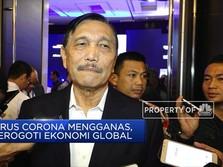 Luhut: Corona Mengganas, Gerogoti Ekonomi Global