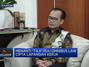 Omnibus Law 'Cilaka', Susiwijono: Draft RUU Menanti Surpres