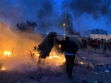 Irak Konfirmasi Area Dubes AS Diserang Roket di Baghdad