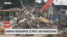 VIDEO: Sampah Kembali Menumpuk di Pintu Air Manggarai