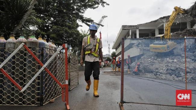 Pada November 2019, DPRD DKI memangkas anggaran keseluruhan untuk Jakpro dalam KUAPPAS hingga Rp400 milair. Ketua DPRD DKI mengatakan pemangkasan anggaran itu sebagai bentuk ketidaksetujuan pada pembangunan hotel di kawasan TIM. (CNN Indonesia/Adhi Wicaksono)