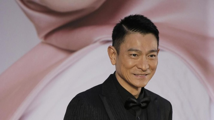 Andy Lau. (AP Photo/Vincent Yu)
