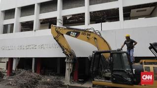 FOTO : Gedung Dibongkar, Revitalisasi TIM Dimulai