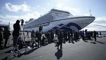 542 Penumpang Kapal Pesiar Jepang Positif Virus Corona