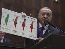 Erdogan Sebut Bunga Tinggi 'Setan', Turki Krisis Mata Uang