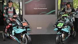 FOTO: Petronas Yamaha Rilis Motor MotoGP 2020