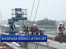 Waspada Risiko Latah Bangun LRT