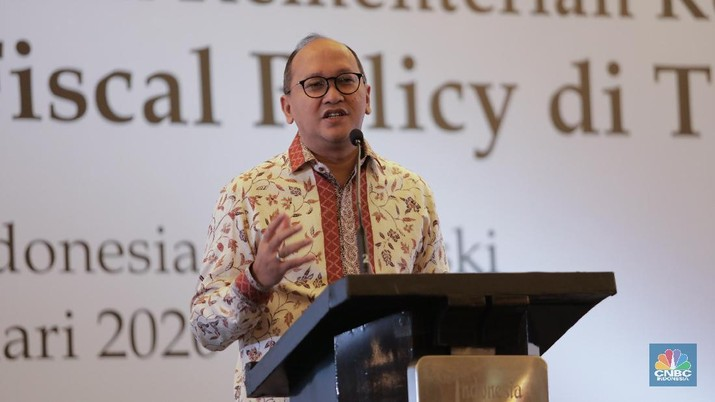 Ketua KADIN Rosan P Roeslani di acara APINDO bersama KADIN dan HIPMI  menggelar acara Business Gathering bertema
