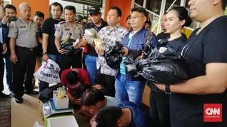 Polisi Bongkar Jaringan Ganja Sintetis Surabaya-Jakarta