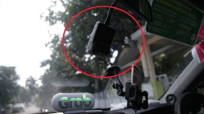 GrabCar Dipasangi Kamera Siaga 24 Jam untuk Cegah Kejahatan