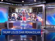 Trump Gagal Dimakzulkan, Bursa AS, Eropa & IHSG Menguat