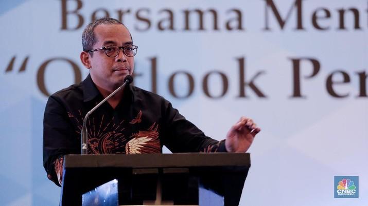 Dirjen Pajak Sri Utomo (CNBC Indonesia/Tri Susilo)