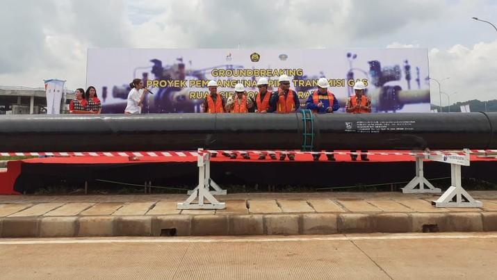 Proyek Pembangunan Pipa Transmisi Gas Ruas Cirebon-Semarang (dok)