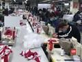 VIDEO: Virus Corona, Vietnam Genjot Produksi Masker