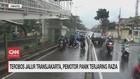 Terobos Jalur TransJakarta, Pemotor Panik Terjaring Razia
