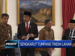 Jokowi: Pemanfaatan Lahan Masih Tumpang Tindih