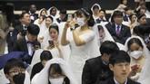 Korea Selatan telah mencatat 24 kasus infeksi virus corona Wuhan. Seoul pun telah melarang masuknya orang asing ke wilayahnya. (AP Photo/Ahn Young-joon)