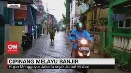 VIDEO: Cipinang Melayu Banjir, Warga Mengungsi