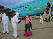 Deretan Pesawat yang Evakuasi Warga Asing dari Wuhan