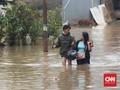 Titik Banjir di Jakarta Hari Ini, Jalan DI Pandjaitan Putus