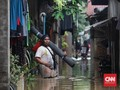 Anies Klaim Banjir Jakarta Telah Surut