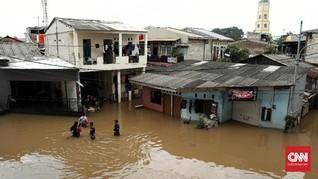 Asuransi Masih Hitung Proyeksi Klaim Banjir Jakarta pada 2020