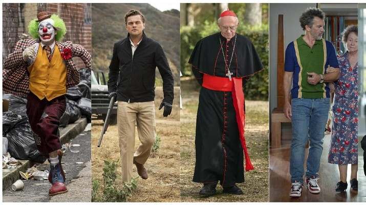 This combination of photos shows best actor Oscar nominees, from left, Joaquin Phoenix in