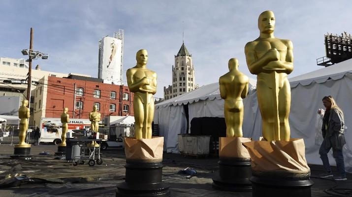 Berbagai persiapan juga telah disiapkan mulai dari dekorasi tempat di area Hollywood, Los Angeles, USA.