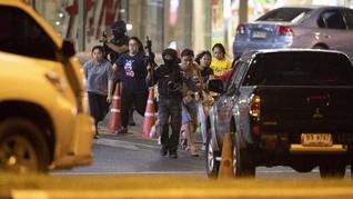 Korban Penembakan di Thailand Bertambah, Polisi Sisir Mal