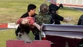 Juru Bicara Kementerian Pertahanan Kongcheep Tantrawanit mengatakan belum mengetahui motif penembakan beruntun tersebut. Hanya saja, petugas mengidentifikasi bahwa pelaku yakni Sersan Mayor Jakrapanth Thomma merupakan seorang perwira militer junior. (AP Photo/Wason Wanichakorn)