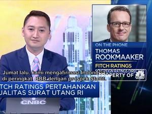 Alasan Fitch Ratings Pertahankan Kualitas Surat Utang RI