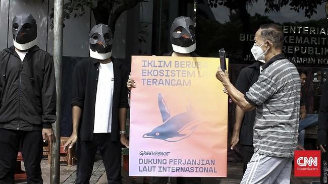Perjanjian di tingkat PBB itu dinilai penting untuk melindungi laut dari krisis iklim dan kerusakan lingkungan lebih jauh. (CNN Indonesia/Andry Novelino)