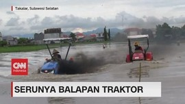 VIDEO: Serunya Para Petani Balapan Traktor
