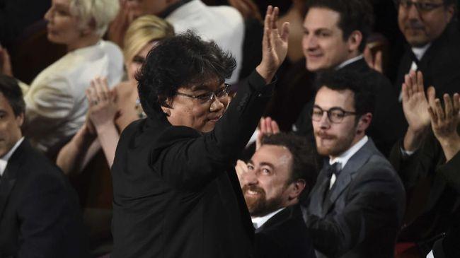 Selebriti Dunia Rayakan Kemenangan Parasite di Oscar 2020