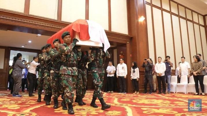Acara itu berlangsung di Gedung Dhanapala, Kementerian Keuangan, Jakarta, Senin (10/2/2020).