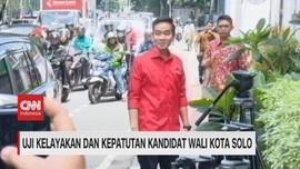VIDEO: Gibran Jalani Fit and Proper Test Wali Kota Solo