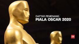 VIDEO: Para Pemenang Piala Oscar 2020