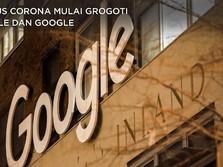 Virus Corona Mulai Grogoti Apple Dan Google