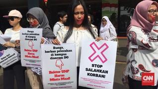 Kemendikbud Didemo soal Kekerasan Seksual di Kampus