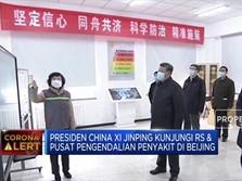 Xi Jinping Menyemangati Tim Medis RS di Beijing