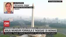 VIDEO: Maju Mundur Formula E 'Ngegas' di Monas