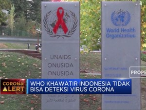 WHO Khawatir Indonesia Tak Bisa Deteksi Corona