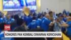 VIDEO: Kongres PAN Kembali Diwarnai Kericuhan