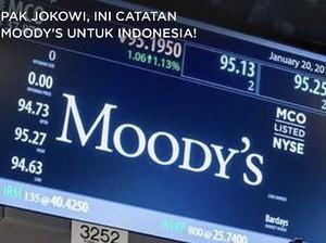 Pak Jokowi, Ini Catatan Moody's untuk Indonesia