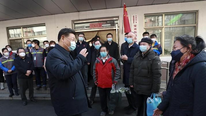 Xi Jinping: Upaya Keras Setop Corona Sakiti Ekonomi China?