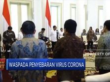 Ini Kata Jokowi Soal Penyebaran Virus Corona