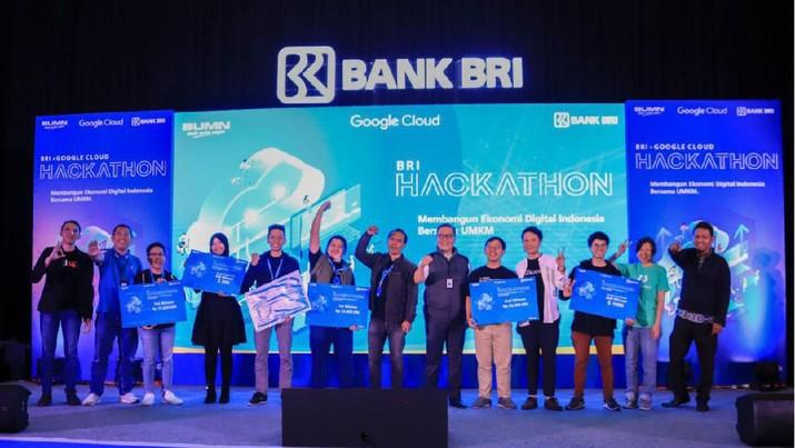 Berhadiah Rp 300 Juta, Ini Daftar Juara BRIxGoogle Hackathon