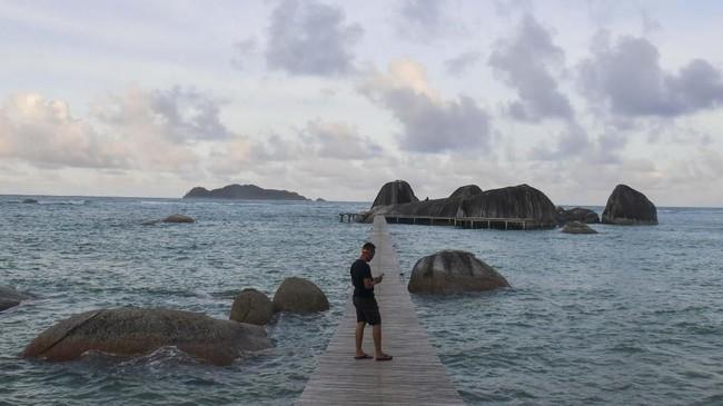 FOTO: Wisata di Natuna Sepeninggal Virus Corona